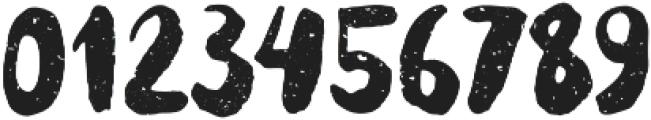 Supertramp texture Regular otf (400) Font OTHER CHARS