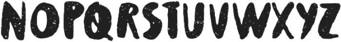Supertramp texture Regular otf (400) Font UPPERCASE