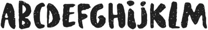 Supertramp texture Regular otf (400) Font LOWERCASE