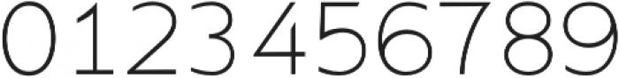 Supra Thin otf (100) Font OTHER CHARS