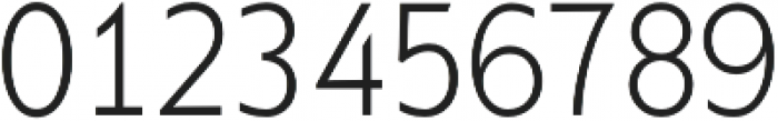 Supra XLightCondensed otf (300) Font OTHER CHARS
