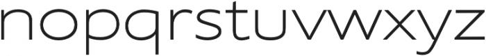 Supra XLightExtended otf (300) Font LOWERCASE