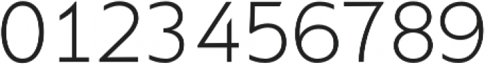 Supra XLightMezzo otf (300) Font OTHER CHARS