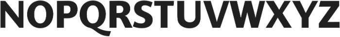 SupraClassic Bold otf (700) Font UPPERCASE