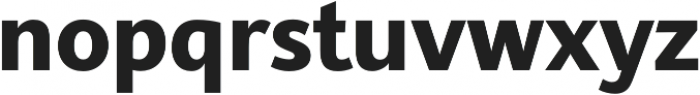 SupraClassic Bold otf (700) Font LOWERCASE