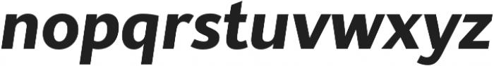 SupraClassic BoldItalic otf (700) Font LOWERCASE