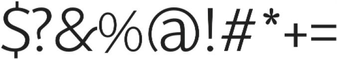 SupraClassic Light otf (300) Font OTHER CHARS