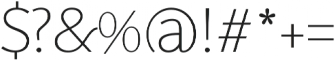 SupraClassic Thin otf (100) Font OTHER CHARS