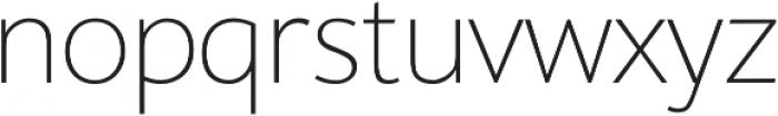 SupraClassic Thin otf (100) Font LOWERCASE