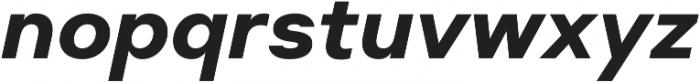 Suprema Bold Italic otf (700) Font LOWERCASE