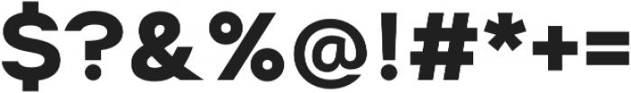 Suprema Bold otf (700) Font OTHER CHARS