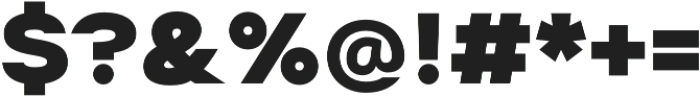 Suprema ExtraBold otf (700) Font OTHER CHARS