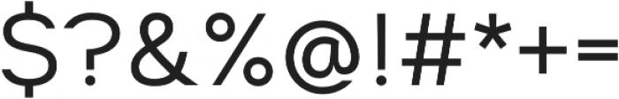 Suprema Regular otf (400) Font OTHER CHARS