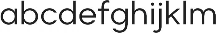 Suprema Regular otf (400) Font LOWERCASE