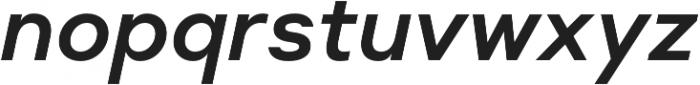 Suprema SemiBold Italic otf (600) Font LOWERCASE