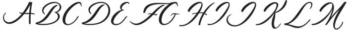 Supremacy otf (400) Font UPPERCASE
