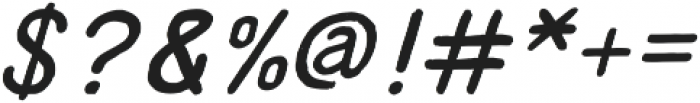Supreme Italic otf (400) Font OTHER CHARS