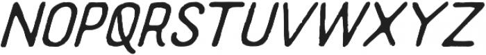 Supreme Italic otf (400) Font UPPERCASE