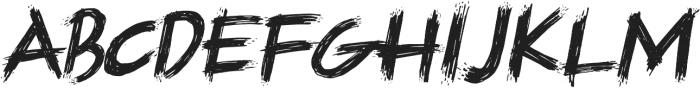 Supremo otf (400) Font LOWERCASE
