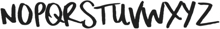 Surf Up otf (400) Font LOWERCASE