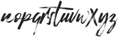 Surprise otf (400) Font LOWERCASE