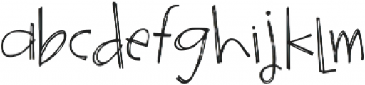 Surrendered Heart ttf (400) Font LOWERCASE