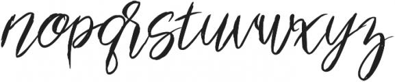 Suzette ttf (400) Font LOWERCASE