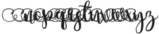 summertime Swirls 3 otf (400) Font UPPERCASE