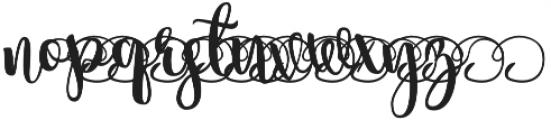 summertime Swirls 3 otf (400) Font LOWERCASE