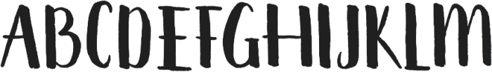 summter ttf (400) Font UPPERCASE