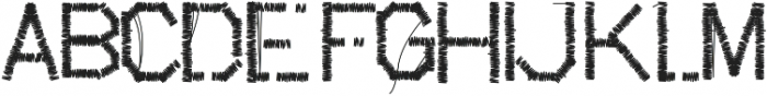 suture ttf (400) Font UPPERCASE