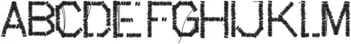 suture ttf (400) Font LOWERCASE