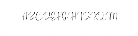 Sugartina Preview Font UPPERCASE