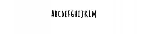 Sumire Font LOWERCASE