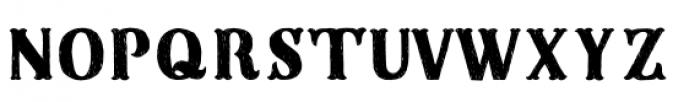 Sunday Best Plain Artisan Font UPPERCASE