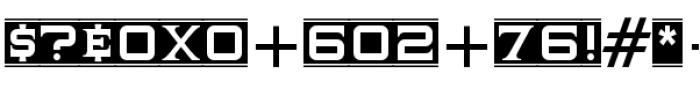 Supermaganda BTN Banner Font OTHER CHARS