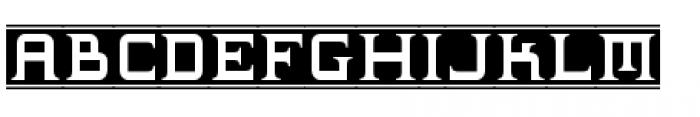Supermaganda BTN Banner Font LOWERCASE