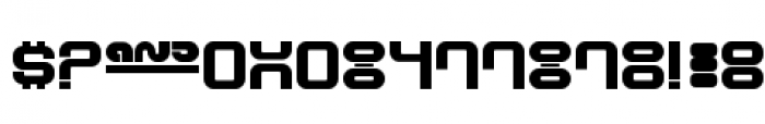 Supervixen Ultra Honeyed Out Font OTHER CHARS