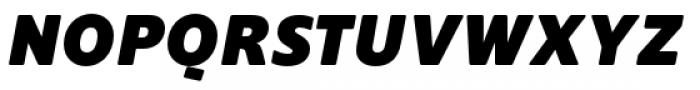 Supra Rounded Black Italic Font UPPERCASE