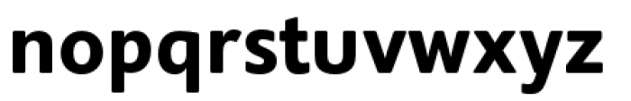 Supra Rounded Demibold Font LOWERCASE