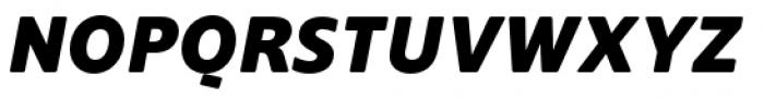 Supra Rounded Extra Bold Italic Font UPPERCASE