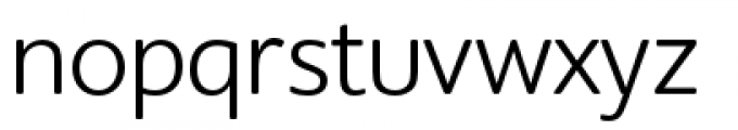 Supra Rounded Light Font LOWERCASE