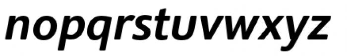 Supra Rounded Medium Italic Font LOWERCASE