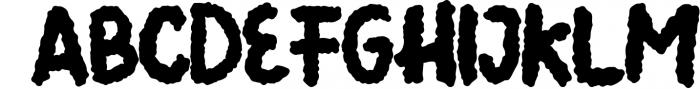 Summer Llama Typeface - Extra Drawing Llama Font UPPERCASE