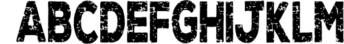 Super Grunge Font now with NUMBERS 1 Font LOWERCASE