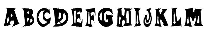 SUMANANKI Font UPPERCASE