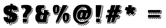SUPER SEVEN Shadowed Demo Font OTHER CHARS