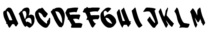 SUPER Font UPPERCASE