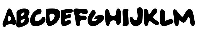 SUPERBADFONT Font UPPERCASE