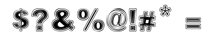 SUPERMARKET Font OTHER CHARS